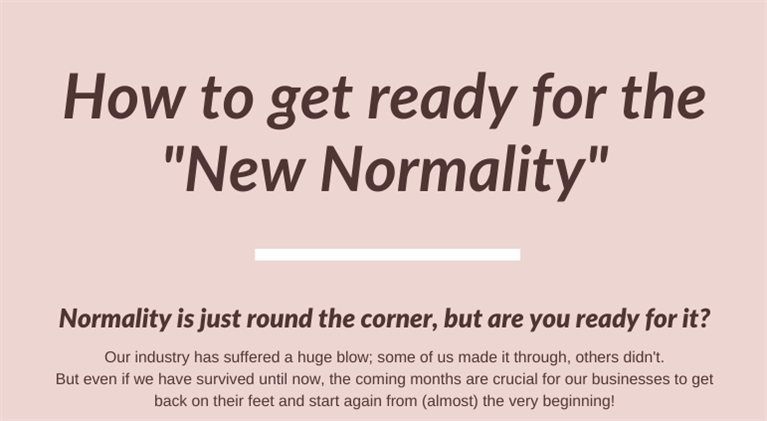 How can schools get ready for the new normal?