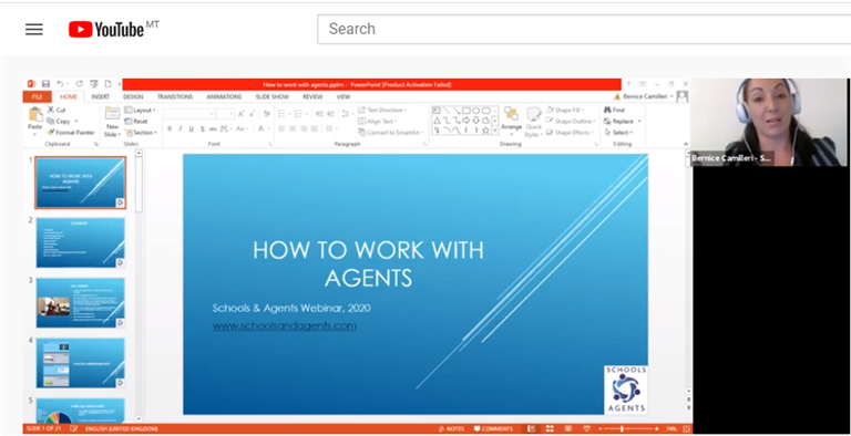 How to work with agents in international education