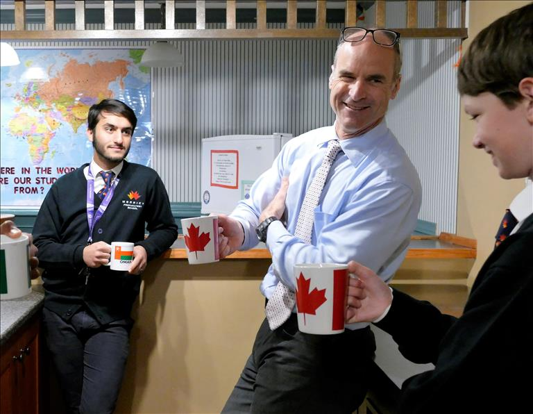 Boarding School in Canada