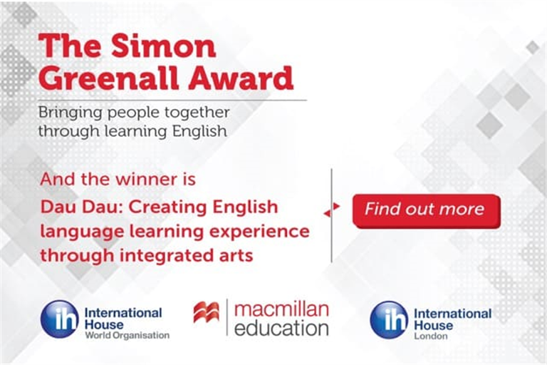 The Award aims to promote projectsthatbring people together through learning English