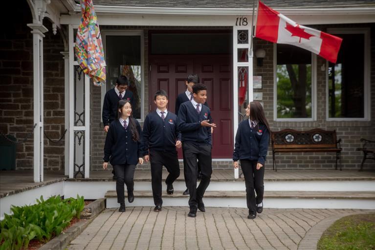 Small school in Ontario Canada