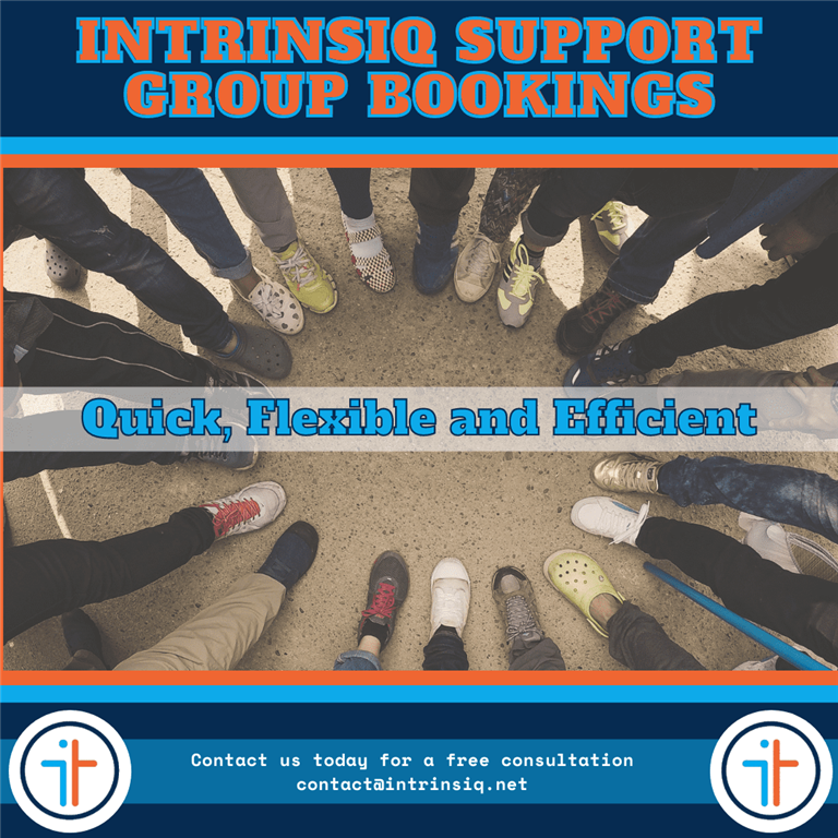 Intrinsiq Support: Group Bookings