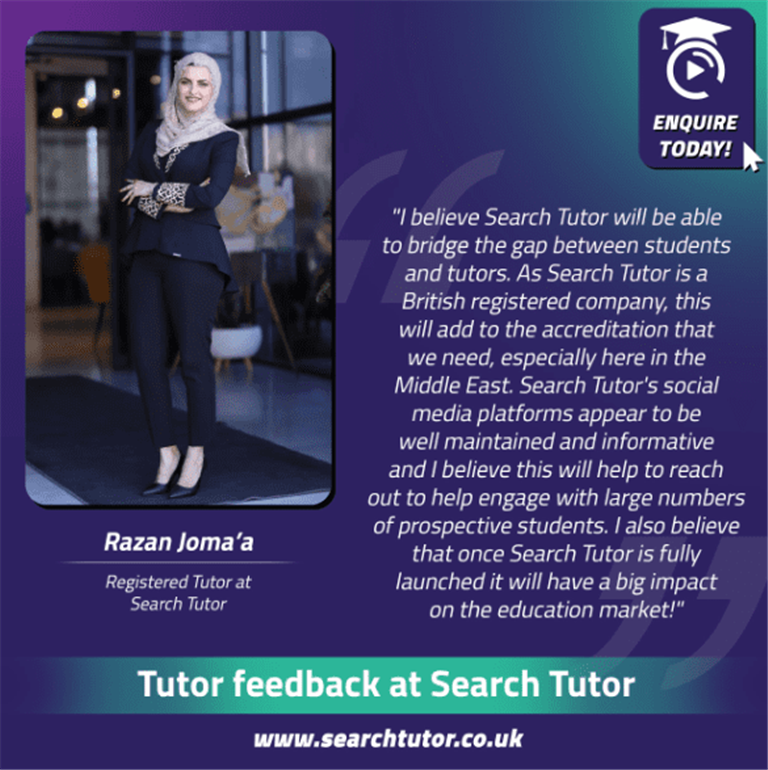 Search Tutor Expectations