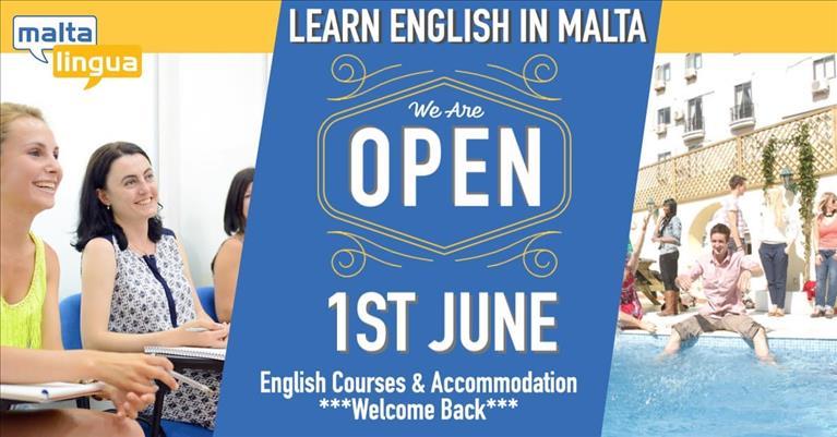 Maltalingua Reopens
