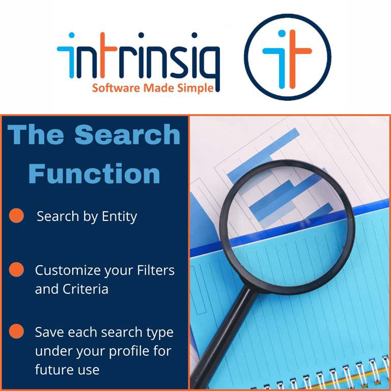 The Search Function in a School Management System