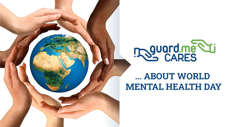 guard.meCARES about World Mental Health Day