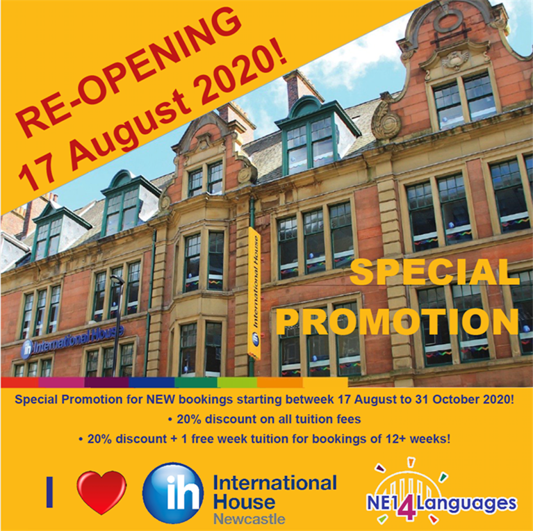 IH Newcastle reopens
