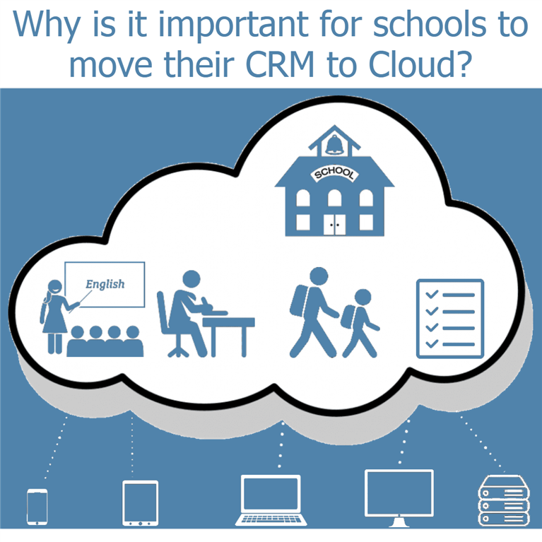 Why is it important for schools to move their CRM to Cloud?
