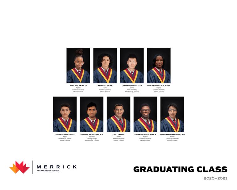 Celebrating our graduating class 2021