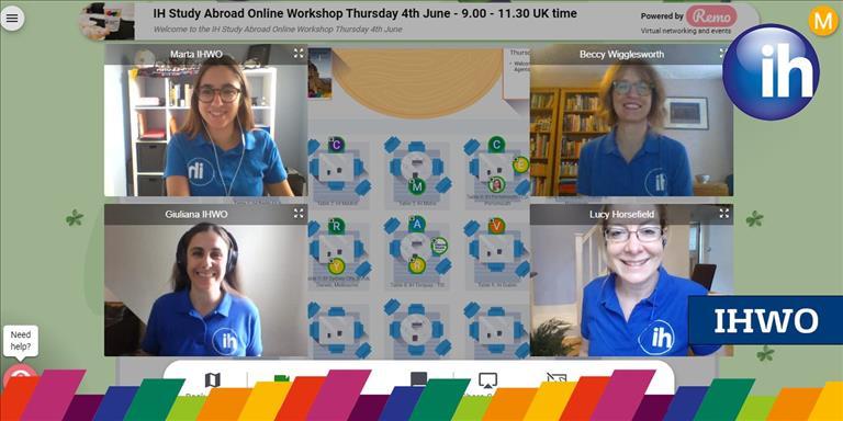 IH Study Abroad Online Workshops